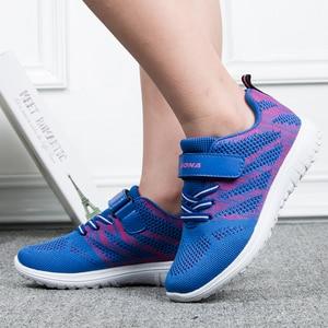 Image 5 - BONA New Arrival popularny styl dzieci obuwie siatkowe trampki chłopcy i dziewczęta płaskie dziecko świecące buty do biegania szybka bezpłatna wysyłka