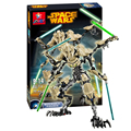 Decool 9016 Звездные войны Генерал Гривус строительный кирпич блоки Игрушки для детей мальчик Игра Совместима с Decool Бела Лепин