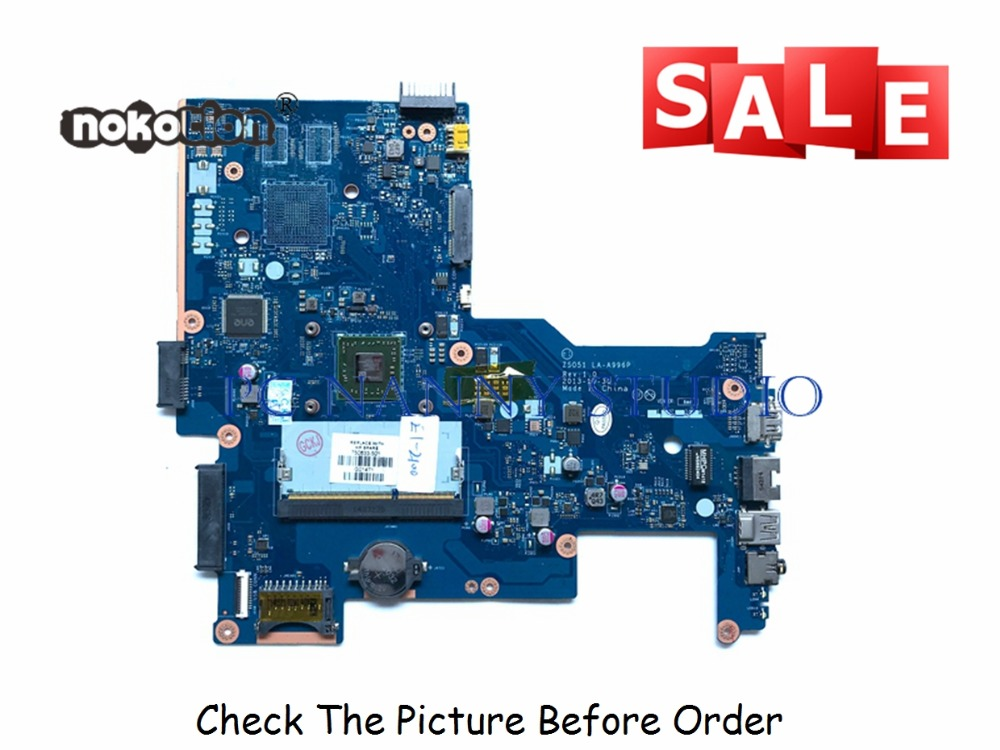 PCNANNY for HP 15-G laptop motherboard ZS051 LA-A996P REV 1.0 750633-001 750633-501 tested