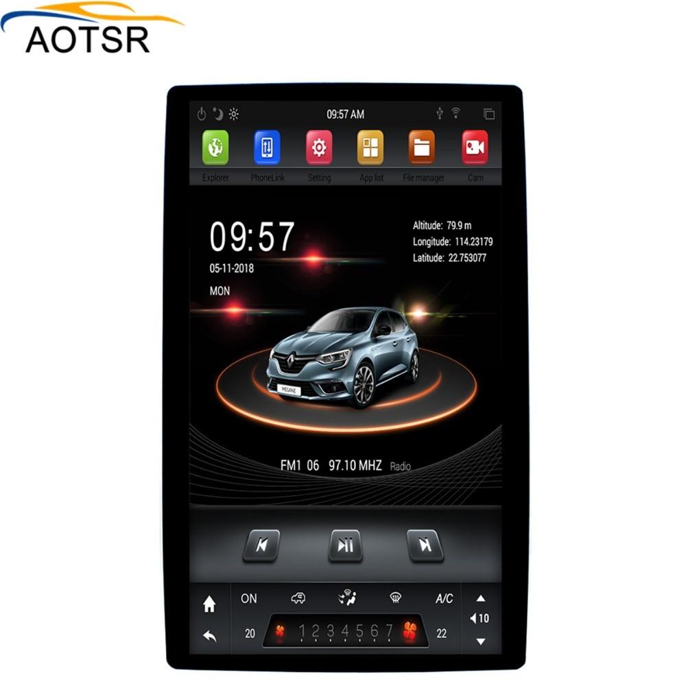 4K 12 8 Tesla Android 8 1 4 32GB universal car gps radio player For Toyota