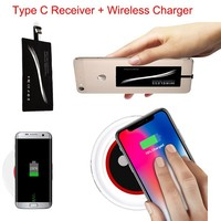 Type C Wireless Charger Charging Kit Adapter Receiver Pad For LG Nexus 5X Nexus 6P Oneplus