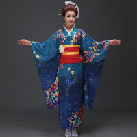 The new 2017 high grade traditional Japanese kimono show ms long stage