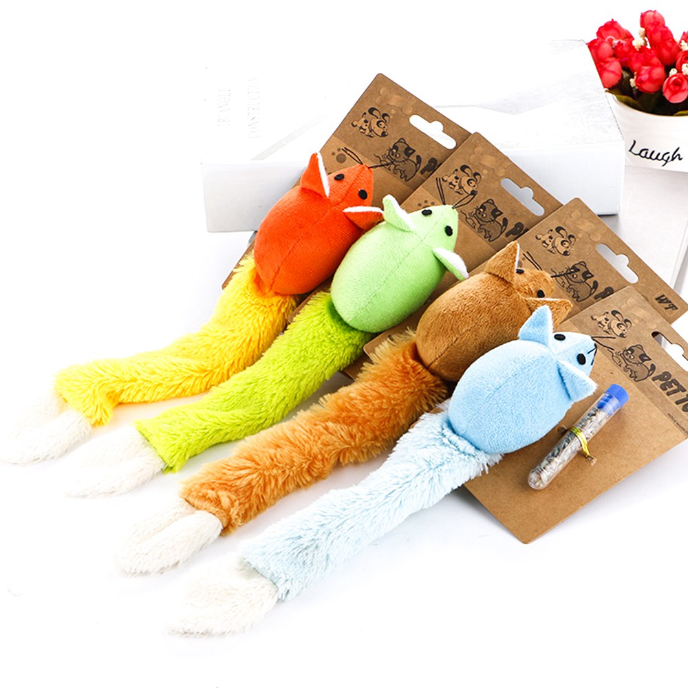 Catnip Cat Toy for Cats Plush Soft Pet Toys Interactive Mice Mouse Toys fro Cat Funny Kittens Training Toys Play Games TY0019 16