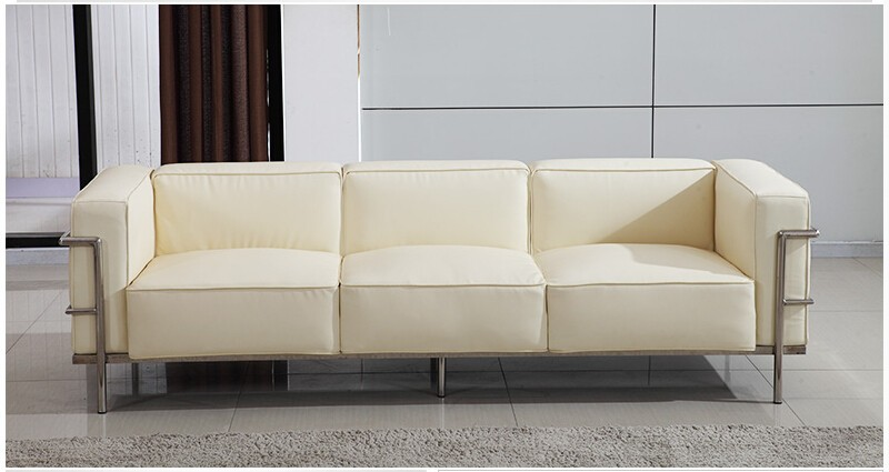 Le Corbusier Style LC3 Sofa 3-seat or Loveseat 2-seat  (5)