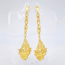 Sunny Jewelry Fashion Jewelry 2018 Long Drop Dangle Earrings For Women Copper High Quality Animal Snail For Party Wedding Daily