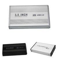 New 3 5 Inch USB 2 0 SATA External HDD HD Hard Drive Enclosure Case Box