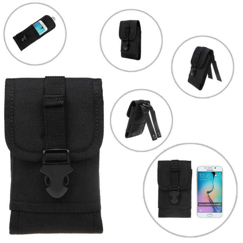 Outdoor Universal Phone Bag Sport Pouch Riem Haak Holster Taille Case Voor Doogee T6 T5 Blackview BV6000 BV7000 BV9000 BV8000 pro