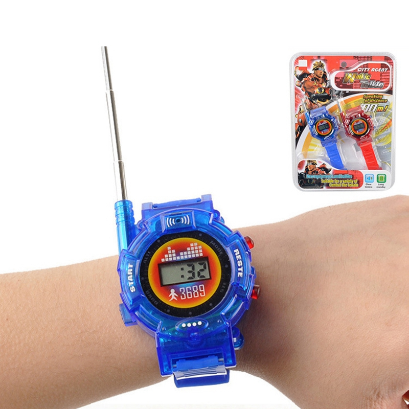 Children'S Toy Watch Walkie-Talkie Military Intercom Toy Camping Toy Enfant Kid Radio Electronic Sounding Children Education Toy