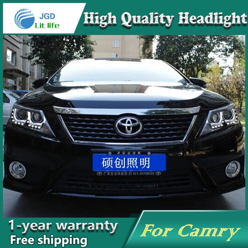 visokokvalitetni dizajn automobila za Toyota Camry 2012-2013 farovi - Svjetla automobila - Foto 2