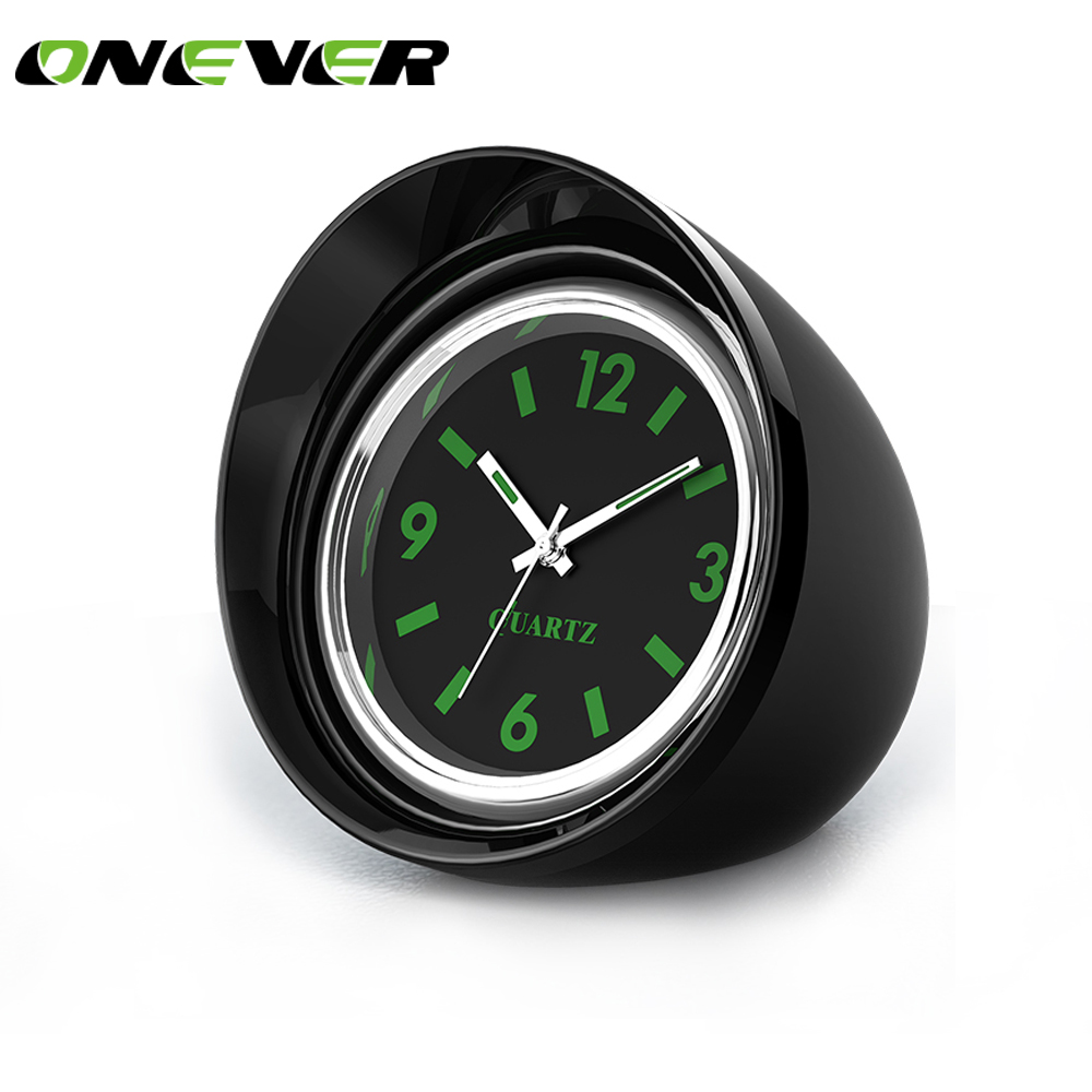 Green Car Reports >> Car Styling Luminous Quartz Clock Car Interior Decor ...