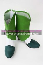 Custom-made Cheap Smile Pretty Cure Cure March Cosplay Boots Cosplay Shoes Halloween(China)