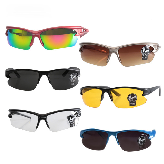 00d357bca7 New Cycling Eyewear Sunglasses UV400 Safety Unisex Goggle Sunglasses Bike  Bicycle Outdoor Sport Windproof Eye Movement