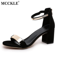 Mcckle new 2017 sexy party fashion zip women s sandals ladies casual hight heels ankle strap.jpg 200x200