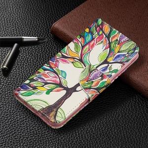 Image 2 - Funda de cuero tipo cartera con ranuras para tarjetas para Samsung Galaxy Note 10 Plus S10 S9 A70 A50 A40 A30 A20 A10 M10 M20 soporte magnético