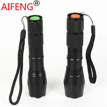 AIFENG 3800LM cree xml  t6 flashlight 18650 2000LM Q5 torch zoom LED AAA rechargeable lamp zoomable with charger  battery