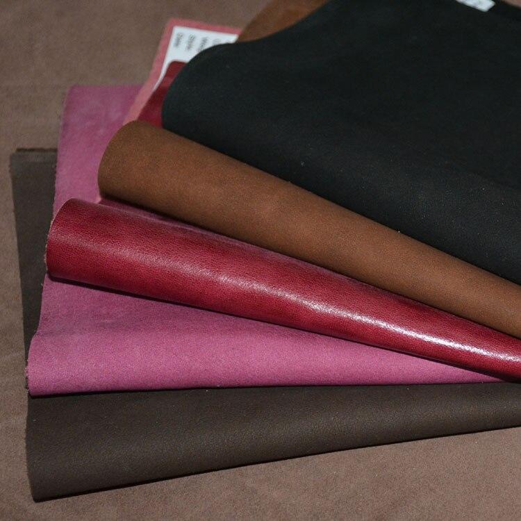 Бесплатная отправка ручной работы DIY кожаная ткань плотная тиснением случайный