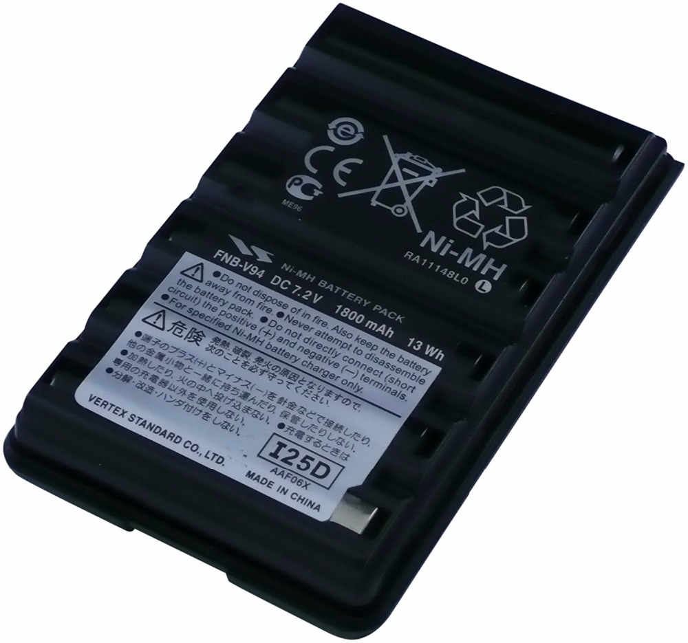 1800mAh 7.5V NI-MH FNB-V94 Ni-MH Battery For Yaesu / Vertex Radio FT-60 FT-60E FT-60R VXA-300,VX-110 VX-120 VX-150 Radio
