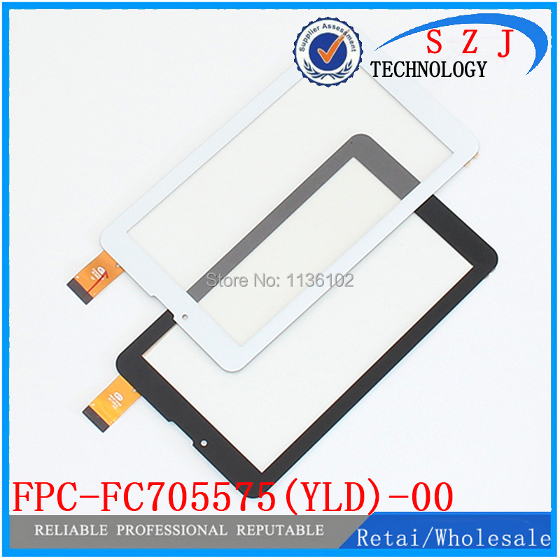 Original 7 inch FPC-FC705575(YLD)-00 Tablet Capacitive touch screen panel Digitizer Glass Sensor replacement Free shipping black new for 7 tablet fpc ctp 0700 066v7 1 capacitive touch screen panel digitizer glass sensor replacement free shipping