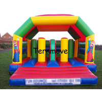 Bounce House Inflatable Obstacle Course Jumping Castle Moonwalk Trampoline For Kids Inflatable Bouncer Bouncy Castle combo