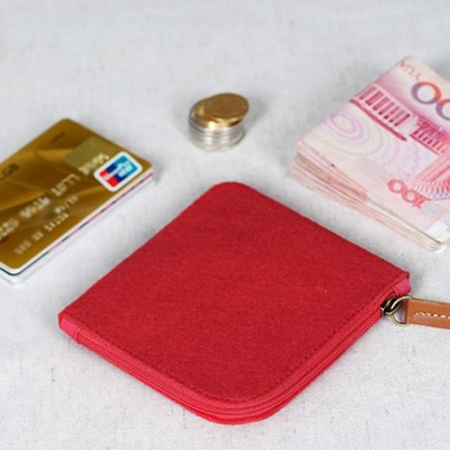 Porte Monnaie Homme Tissu Rouge Pas Cher