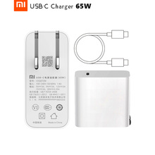 Original Xiaomi USB C Charger 65W Max Smart Output Type C Port USB PD Quick Charge QC 3.0 Gift Cable