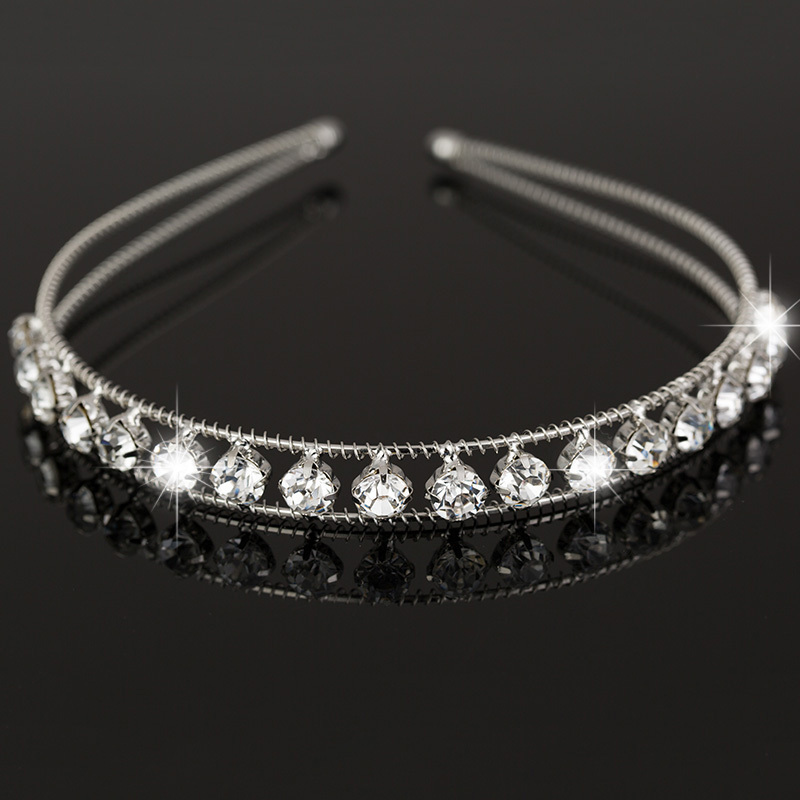 Fashion Romantic Wedding Bride Accessories Hair Jewelry Hairwear Wedding Tiara Headbands Wholesale H030