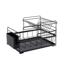 Kitchen Storage Organizer Dish Drainer Drying Rack Metal Sink Holder Tray for Plates Bowl Cup Tableware Shelf Basket mx3151552