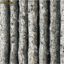 Wood Textured Vinyl 3D Wallpaper Forest Thick Embossed Tree of Wall paper Roll Home Decor tapete for background wall R302 black white textured tree forest woods wallpaper pvc wall paper roll for tv background wall home decor wall paper wp13