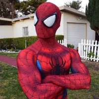 Halloween Fancy Dress Costumes For Women Men Adult Spiderman Costume Spandex 2099 Adult Kids Spandex Amazing
