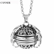 Canner Choker Necklace Women Vintage Magic Photo Pendant Memory Floating Locket Angel Wings Flash Album Box Necklaces