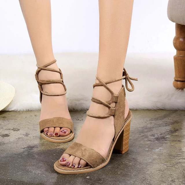 5df43997982 Indira 2017 New Spring Summer Fashion Straps Sandals Women Pumps High Heels  Shoes Female Shoes luxury women shoes designer