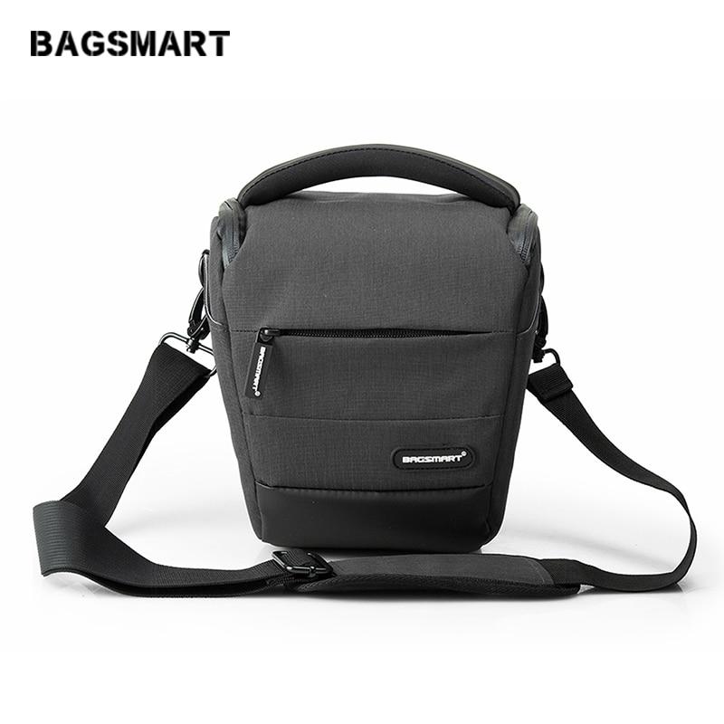 BAGSMART Waterproof Camera Case Bag For Canon Digital SLR / DSLR Compact Camera Shoulder Bag Holster Camera Case To Tavel