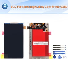 LCD For Samsung galaxy Core Prime G360 G360H G361  G361F LCD display screen 4.5 inch pantalla black free tools