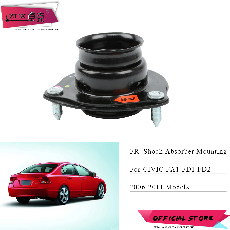 ZUK Front Shock Absorber Rubber Mounting For HONDA CIVIC FA1 FD1 FD2 2006 2007 2008 2009