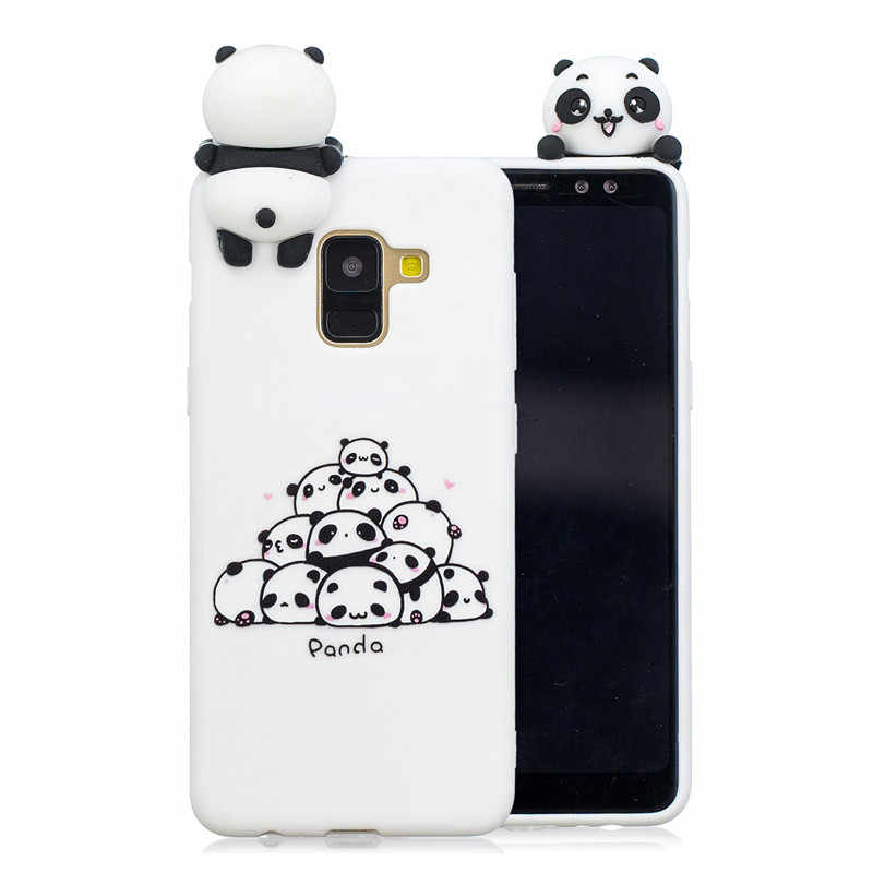 b0b71e928b ... Cute Panda Unicorn Owl Cat 3D Soft Silicone TPU Cartoon Case For Samsung  Galaxy J3 J4 ...
