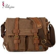 I AM LEGEND Will Smith  laptop satchel bags men messenger military vintage canvas& genuine leather