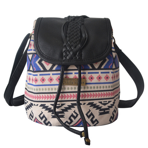 Fashion women shoulder bags canvas messenger ethnic style bag 2014 cross body