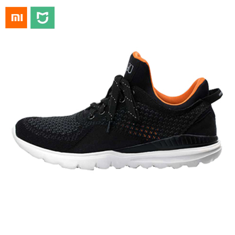 2018 Original FreeTie Xiaomi Smart <font><b>Bluetooth</b></font> 4.0 English APP Comfortable Upper And Durable Sole Running Sneakers <font><b>Shoes</b></font>