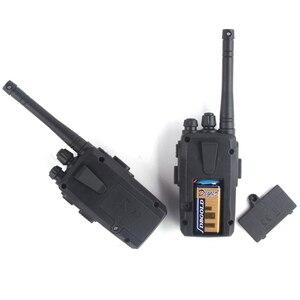 Image 4 - 2Pcs Children Toy Walkie Talkie Portable Radio Electronic Intercom  Kids Interphone Juguete Mini Woki Toki Handle Two Way Radio