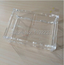 5pcs/lot Transparent Acrylic Case For Raspberry PI B+