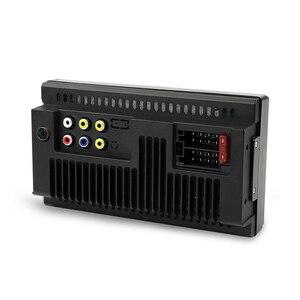 مزدوجة الدين سيارة راديو 7''Resistance اللمس شاشة Autoradio بلوتوث USB AUX TF دعم كاميرا الرؤية الخلفية مرآة رابط الهاتف المحمول