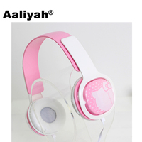 Aaliyah Cartoon Headphone Earphone Headset Earbuds With Microphone Headphones For Computer Samsung Radio For Children Kids