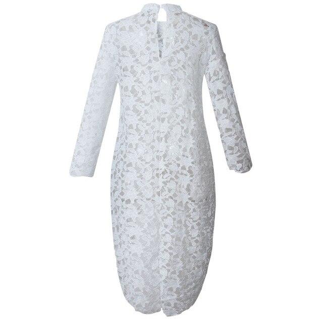 2019 Spring Autumn Women Lace Hollow Out Shirt Long Sleeve Irregular Tops Blouse Loose flora printed Minimalism Blouse Tops 3