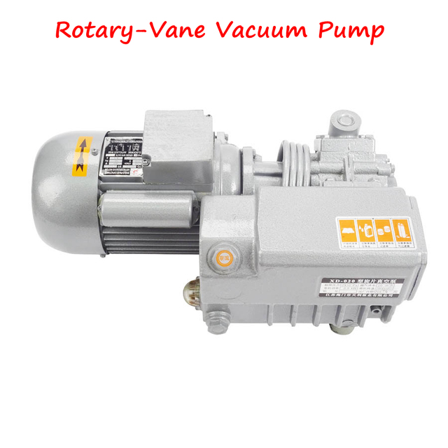 Rotary Vane Vacuum Pump XD 020 Suction Small For Engraving Machine