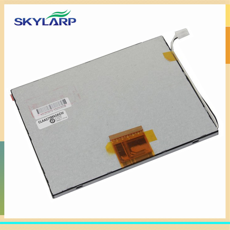 skylarpu 7 inch LCD display for CLAA070MA0ACW for Onda VI20W Tablet LCD screen panel (without touch) Free shipping onda vx610w fpc3 wvn70001av2 h b07015fpc e3 screen 7 inch lcd screen