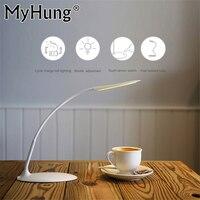 Dokunmatik Basit Moda Ultra Parlak Esnek LED Kitap Işık Okuma Lambası Göz Koruma, Enerji Tasarrufu Işık Parlaklık Ayarı