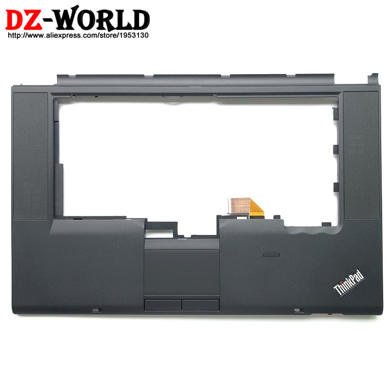 New/Orig Keyboard Panel Bezel Palmrest Cover for Lenovo ThinkPad T520 W520 with Clicker Touchpad and Cable 04X3735 04W1365 image