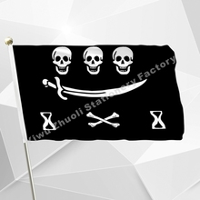 More than 20 pirate flags Large Skull Headband Crossbones Pirates Flag Jolly Roger Hanging With Grommet For Ktv Bar