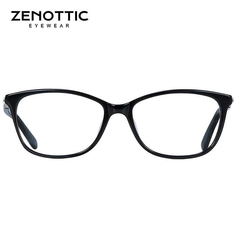 5b2d02d91818 ... ZENOTTIC Acetate Glasses Frame Women Fashion Frame Glasses Optical  Prescription Lenses Computer Glasses Frames Eyewear BT3007 ...
