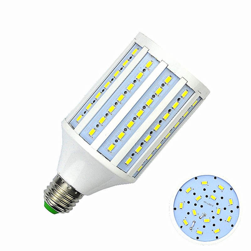 D50 1pcs/lot Free shipping 30W 5730 98 leds 3000LM 110V/220V/ 240V/AC E14 E27 B22 E26 LED corn bulb LED Lamp Corn Spot Light free shipping aluminum corn light 30w 360 degree smd2835 led bulb lamp high quality 30w corn light e27 e40 available